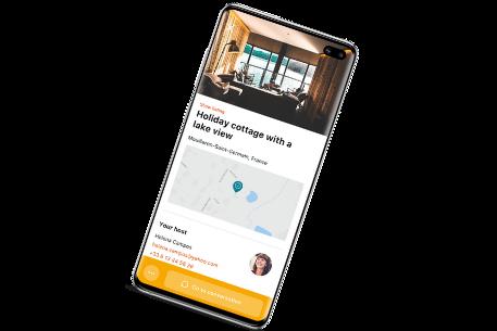 App HomeExchange descobrir o mundo
