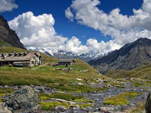 Visitare il paesino Etroubles nella Valle d'Aosta