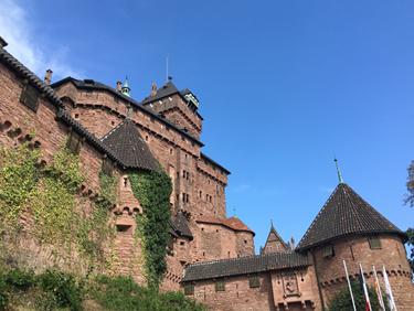 Le château du Haut Koenigsbourg, la montagne des singes et la volerie des aigles