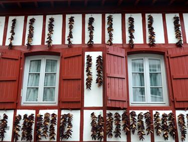 Visiter Espelette au Pays Basque