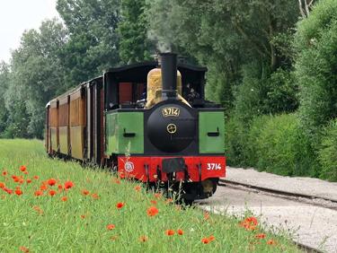 Visiter la baie de la Somme en train à vapeur