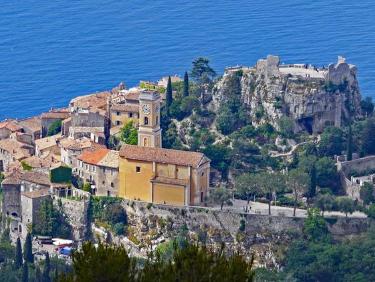 Visiter le village de Eze sur la Côte d'Azur