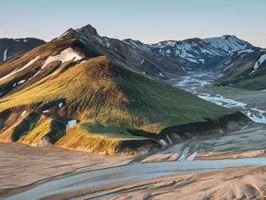 partir en randonnée Landmannalaugar - Islande - échange de maison