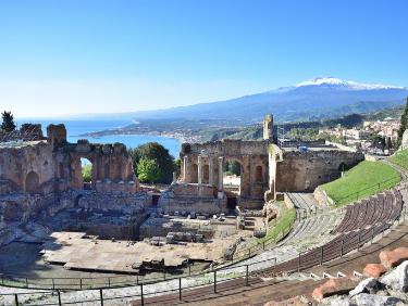Echange de maison Seniors Taormina Italie