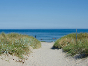 Rügen: der Badeort auf einer baltischen Insel