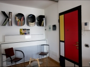 Thais's home, Milan, De Sanctis street